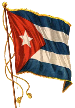 Cuba Flags  com - History of Cuban flag and emblems
